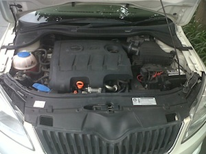 Skoda Rapid - Engine